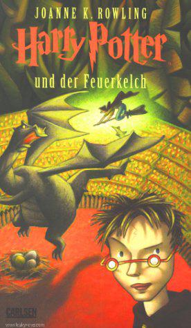 כריכת הספר הרביעי בגרמנית