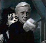 דראקו בשנתו השישית, מכוון שרביט לכיוונו של אלבוס דמבלדור
