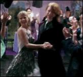 ביל וויזלי ופלר דלאקור רוקדים בחתונתם